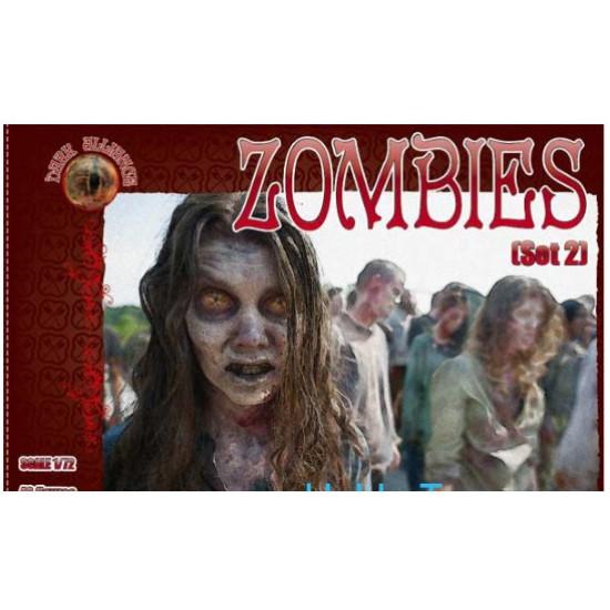Zombies, set 2 1/72 ALLIANCE 72024