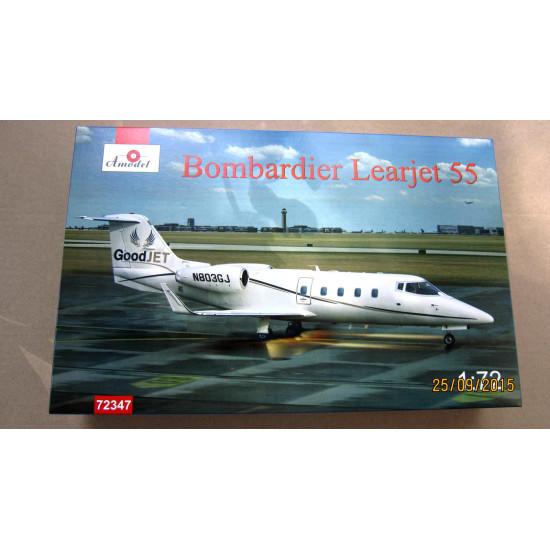 Bombardier Learjet 55 1/72  Amodel 72347