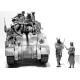 101 LIGHT COMPANY US PARATROOPERS AND BRITISH TANKMAN 1944 1/35 MASTER BOX 35164