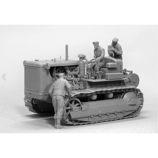 U.S.TRACTOR W/TOWING WINCH