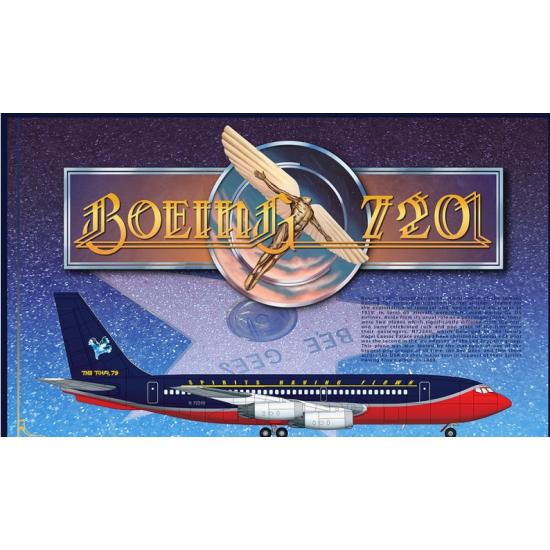"""BOEING 720 """"CAESAR'S CHARIOT"""" 1/144 RODEN 318"""