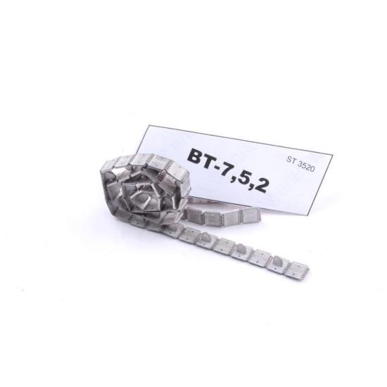 ASSEMBLED METAL TRACKS FOR BT-7,5,2 1/35 SECTOR35 3520-SL