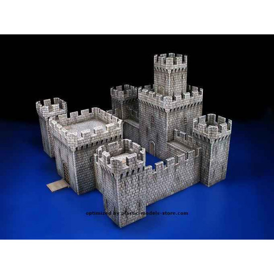 MEDIEVAL CASTLE - PLASTIC MODEL KIT SCALE 1/72 MINIART 72005