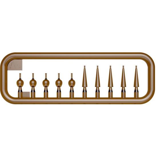 HOUSEHOLD CROCKERY GLASS SET 1/35 MINIART 35559