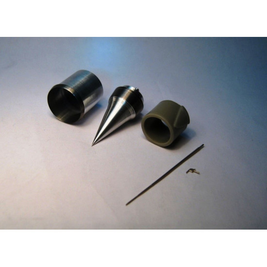 """AIR INTAKE, PITOTS FOR MIG-21R FOR """"EDUARD"""" 1/48 MINI WORLD 4848"""