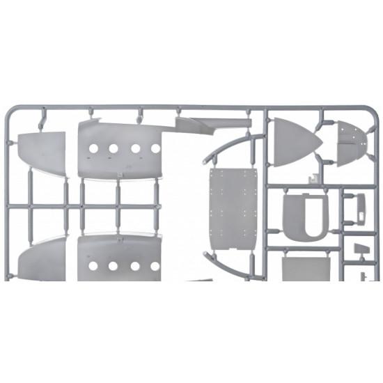 PLASTIC MODEL BUILDING AIRPLANE KIT MILES M.57 AEROVAN 1/72 MICRO-MIR 72-011