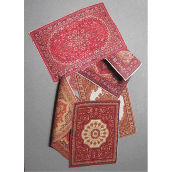 MATERIAL FOR DIORAMAS. CARPETS ON REAL CLOTH. PAINTING ON BOTH SIDES 1/35 DAN MODELS 35238