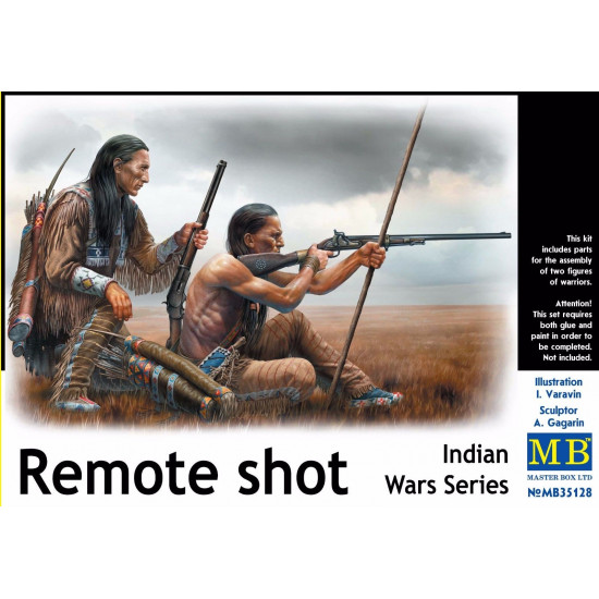 INDIAN WARS SERIES REMOTE SHOT 1/35 MASTER BOX 35128
