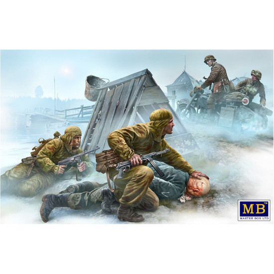 CROSSROADS THE EASTERN FRONT WW2 1/35 MASTER BOX 35190