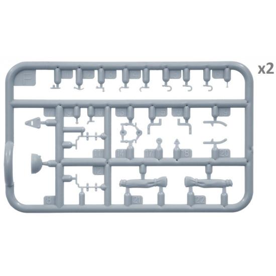 SOVIET 2T TRUCK AAA TYPE W/FIELD KITCHEN - PLASTIC MODEL KIT SCALE 1/35 MINIART 35257