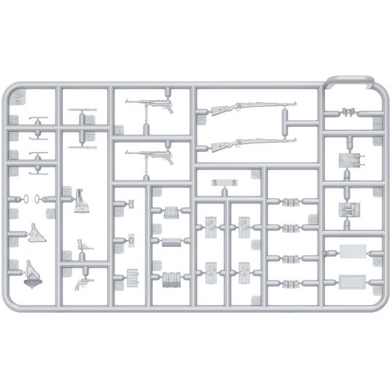 DEUTSCHE PANZERBESATZUNG (FRANKREICH 1944) SONDERAUSGABE - PLASTIC MODEL KIT SCALE 1/35 MINIART 35252