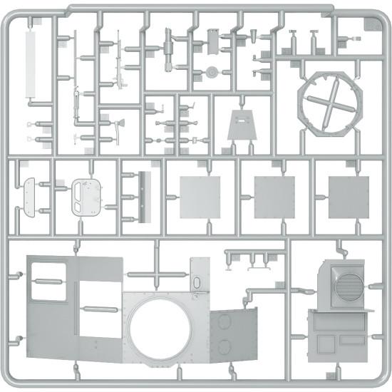 T-60 (T-30 Turret) INTERIOR KIT PLASTIC MODEL SCALE 1/35 MINIART 35241