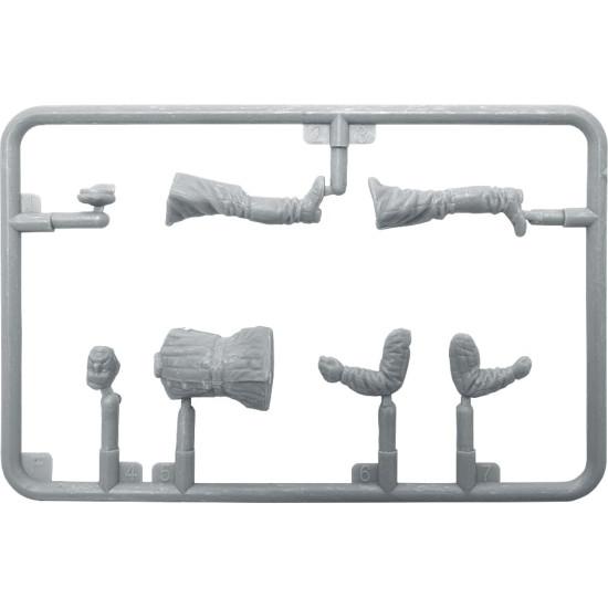 SOVIET VILLAGERS - PLASTIC MODEL KIT SCALE 1/35 MINIART 38011