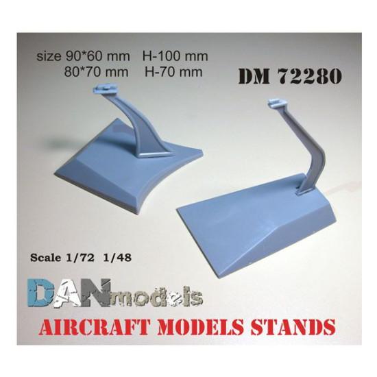 AIRCRAFT MODELS STANDS 1/72 AND 1/48 DAN MODELS 72280
