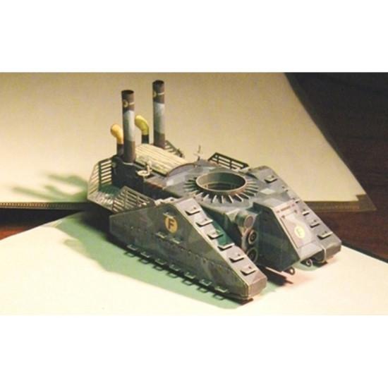 PAPER MODEL KIT MILITARY ARMOR PAROTRANSPORTЁR KU-S 1/50 OREL 192